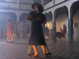 Dresden in ruins – dance hall