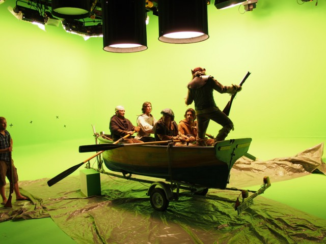 Green screen Studio Magellan
