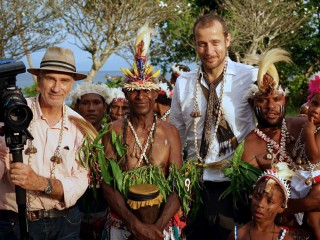 DOP Pieter de Vries and family Alai on Tumleo/PNG