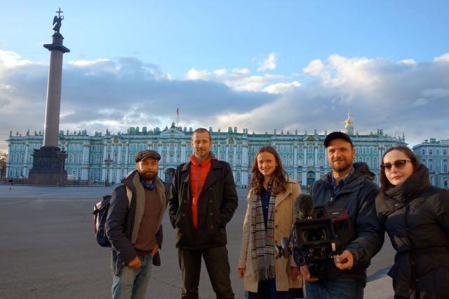 161010 Dreh Zarinnen St.Petersburg - 1 von 1