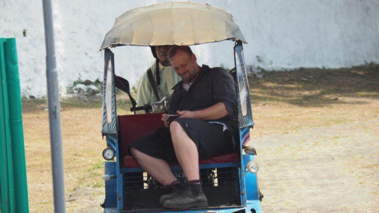 Transportation on the Spice Islands