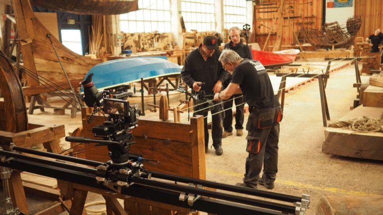 Shooting at Albaola Basque Maritime Heritage Society