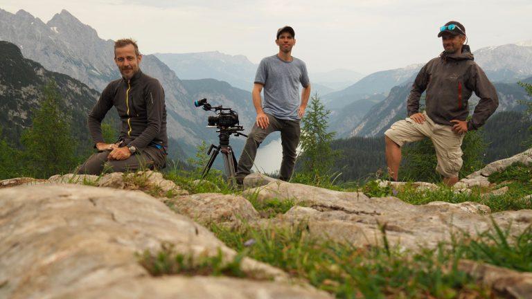 Team am Gipfel des Feldkogel