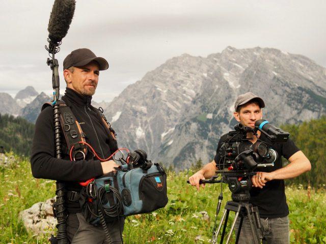 Tonmann Sascha Carbin und Kameramann Denis D. Lüthi