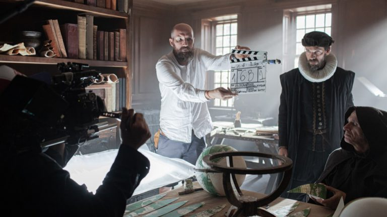 1.AD Andrei Rusu on set with Magellan