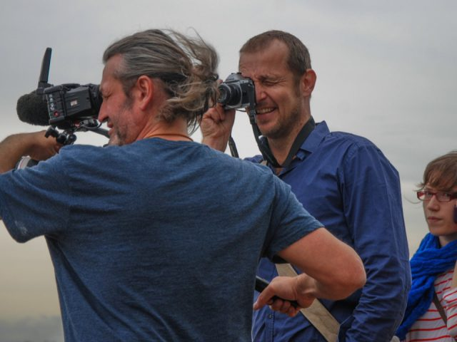 Mit DOP Reiner Bauer am Rio de la Plata