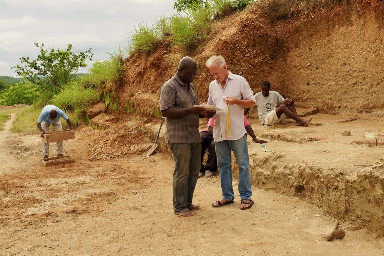 Friedemann Schrenk and Harrison Simfukwe