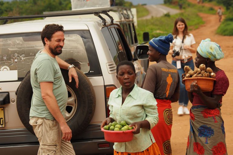 street market in Malawi
