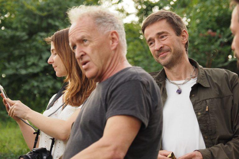 producer Alexandra Böhm, Friedemann Schrenk and DOP Alexander Hein